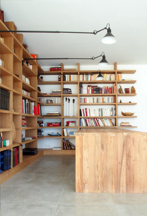Bibliothèque aménagement livres