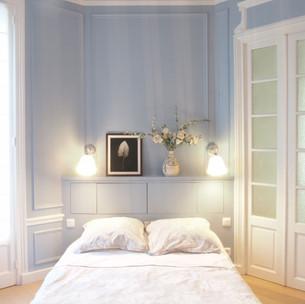 Rénovation complète d'un appartempent haussmanien, Paris 9e