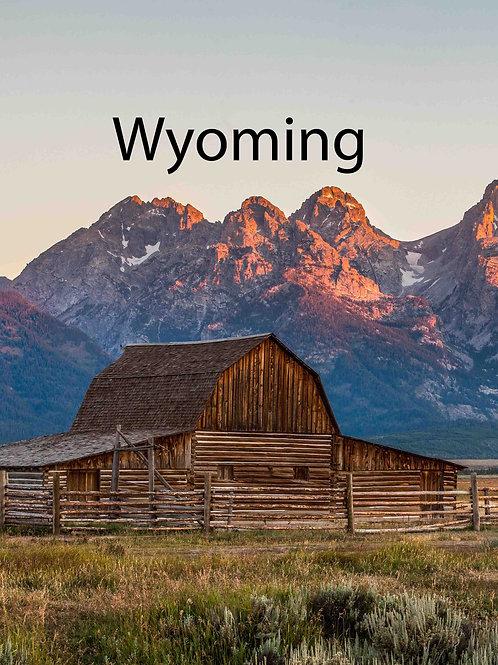 Wyoming Social Media Resources