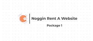 Noggin Branding Rent A Website - package