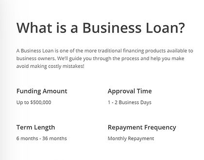 Solid Number Business Loans