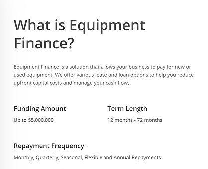 Solid Number Equipment Finan