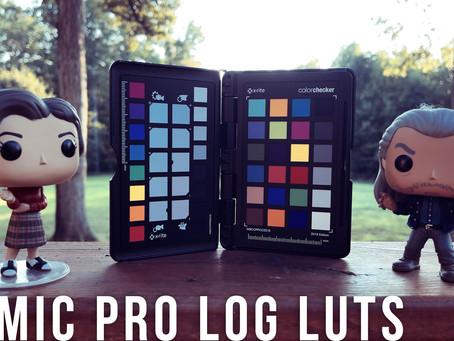 FiLMiC Pro LOG LUTs Pack