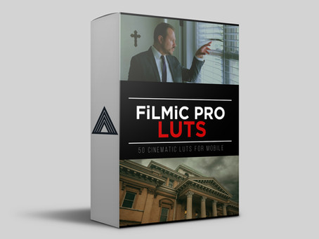 FiLMiC Pro LUTs Mega Pack