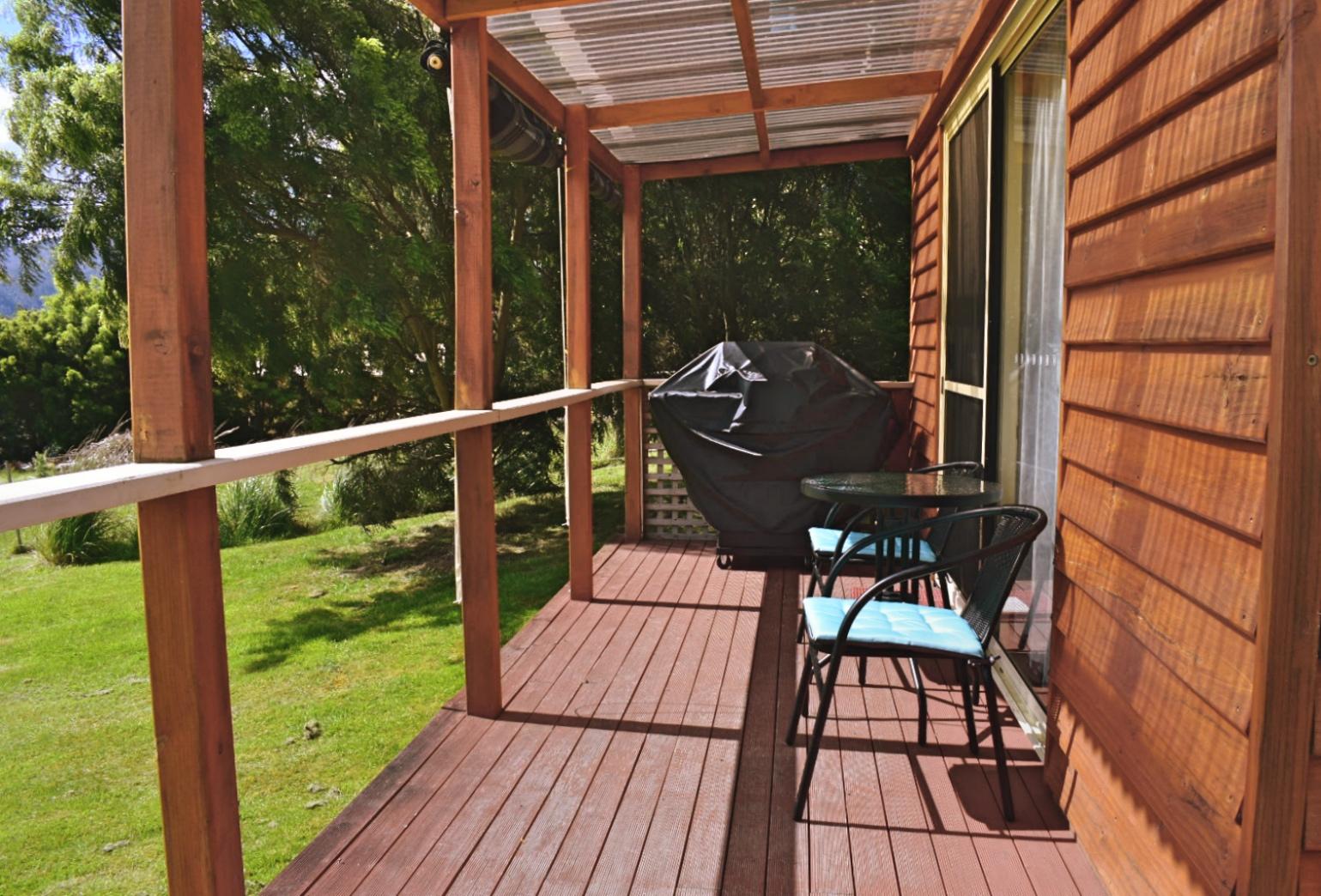 Rose Cabin Deck
