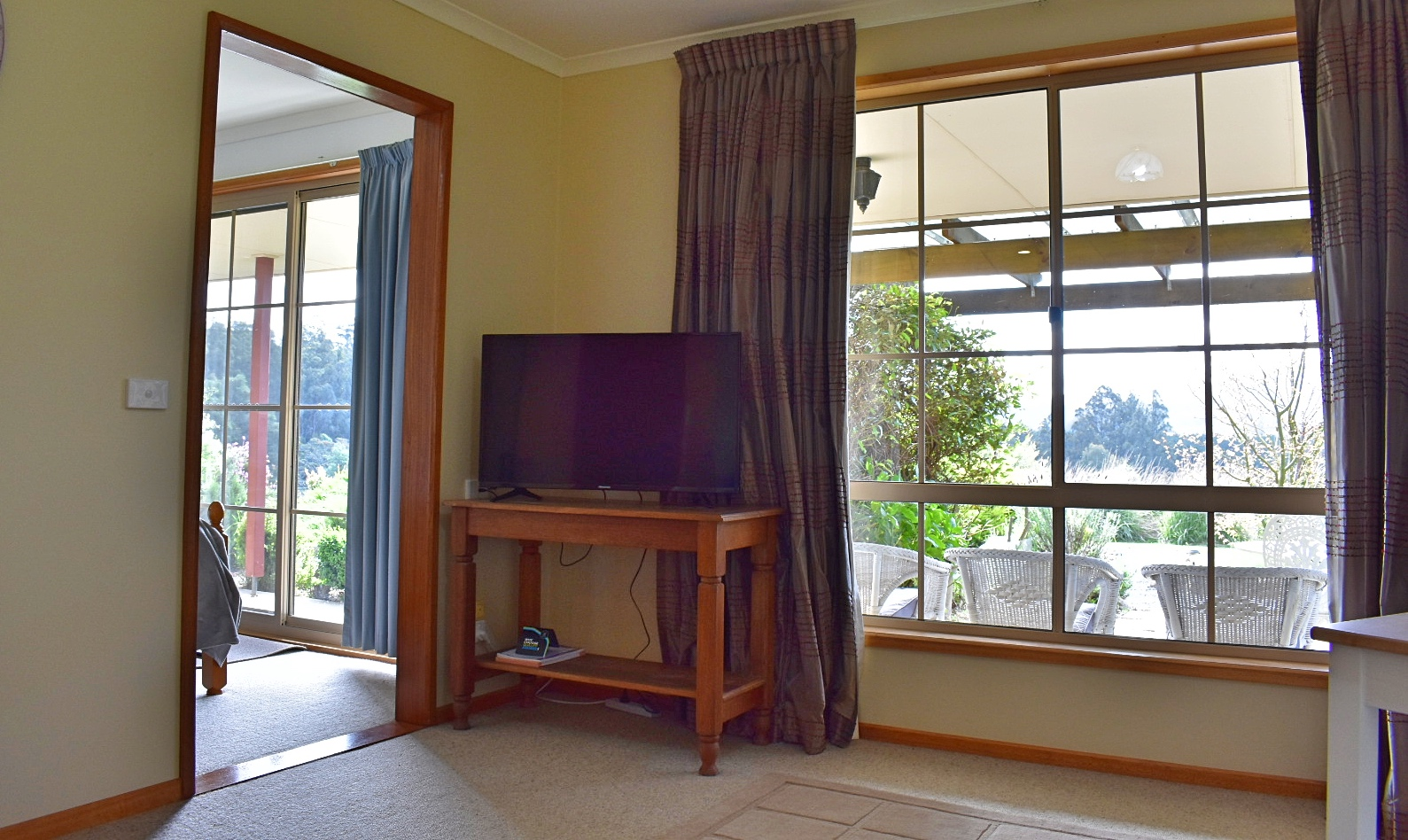 The Lodge second living area