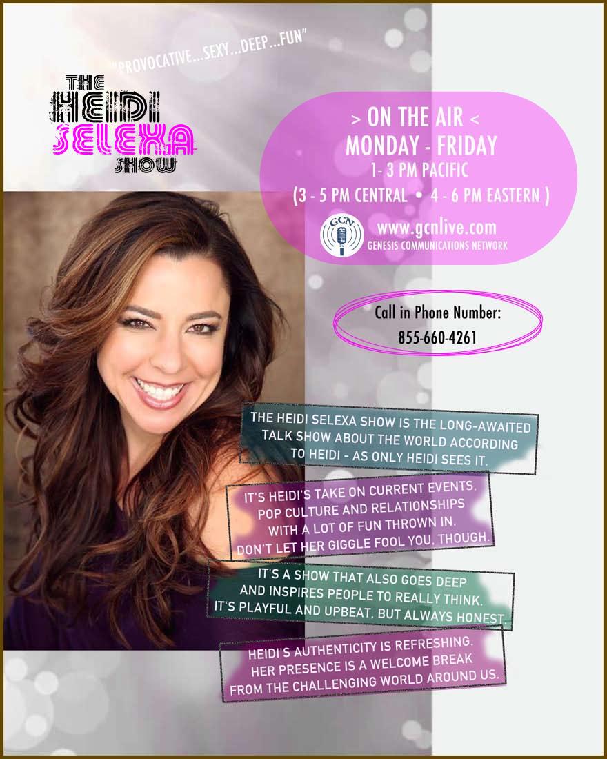 Heidi Selexa Show One Sheet