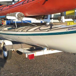 Wilderness Systems North Star Fiberglass Tandem Sea Kayak $799
