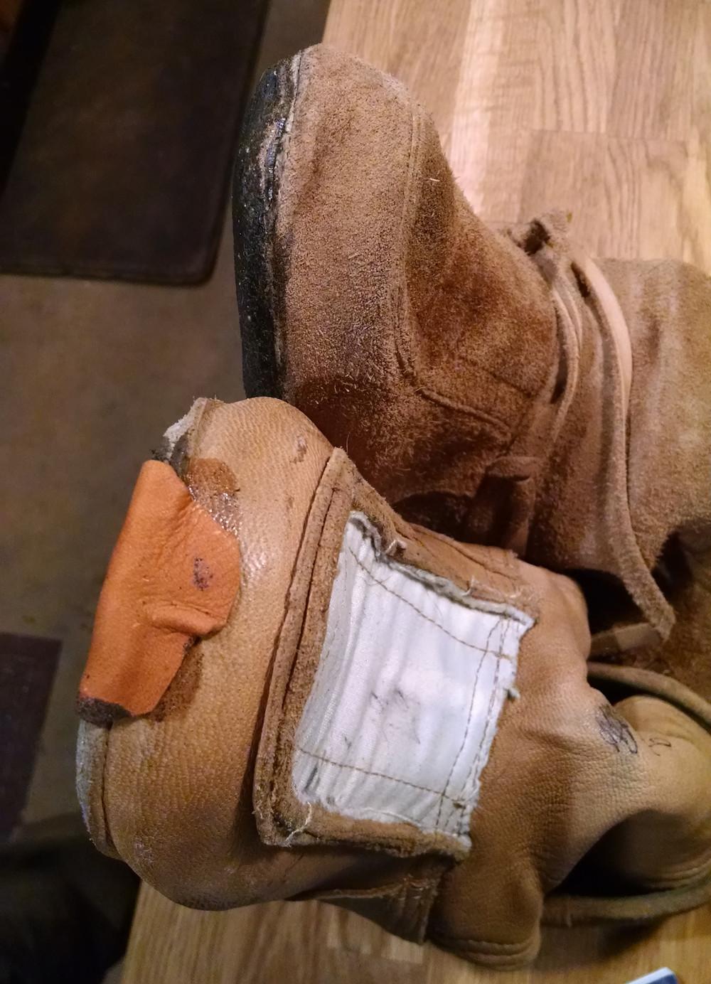 Toe patch