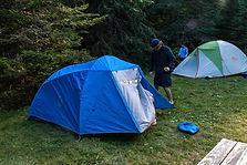 Camping equipment rentals