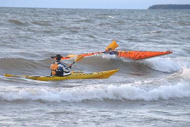 ACA levels 1-4 kayak skills assessment