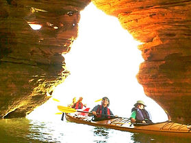 Kayaking Apostle Islands Sea Caves