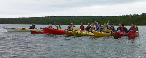 Apostle Islands Sea Cave Kayaking Trip