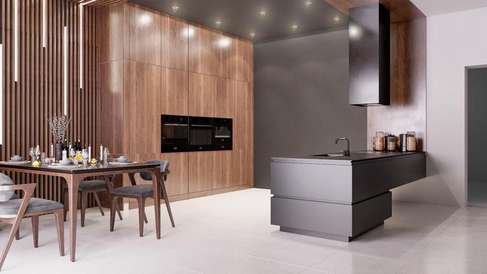 Вариации на тему первого варианта кухонной мебели