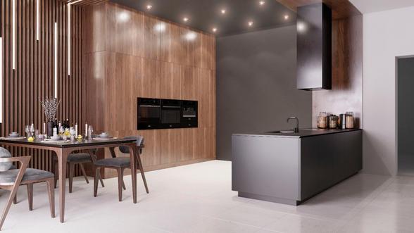 Первый вариант кухонной мебели