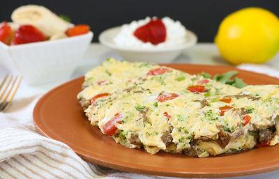Omelet & Fruit
