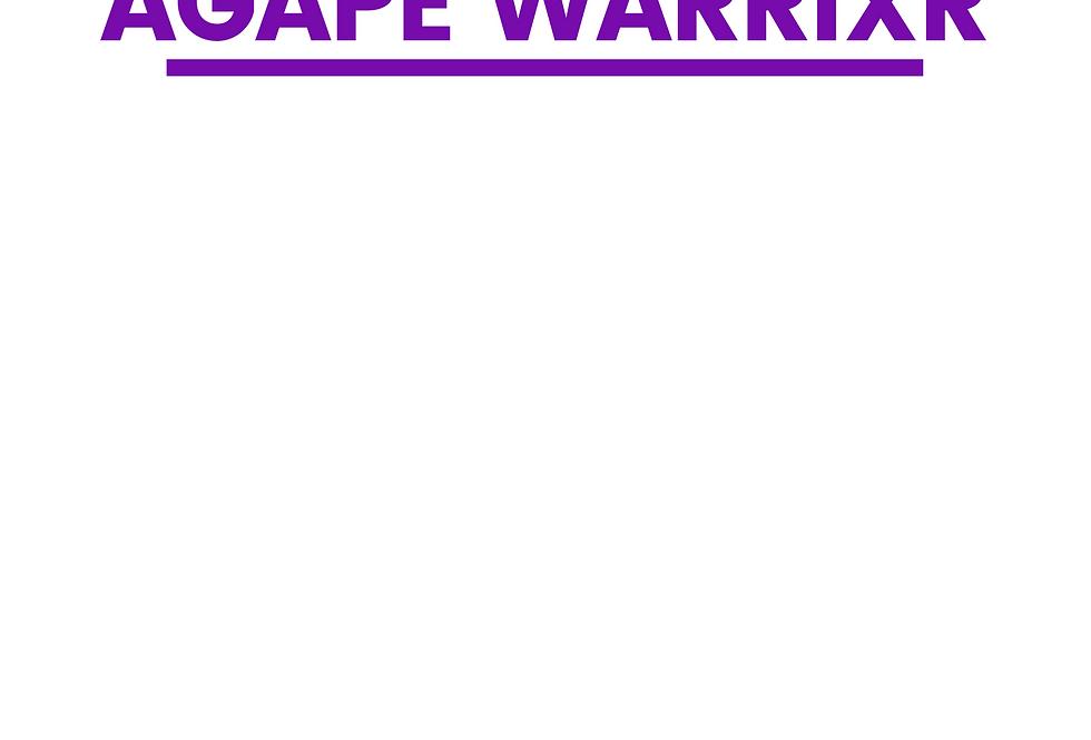 Minimal T-Shirt: AGAPE WARRIXR