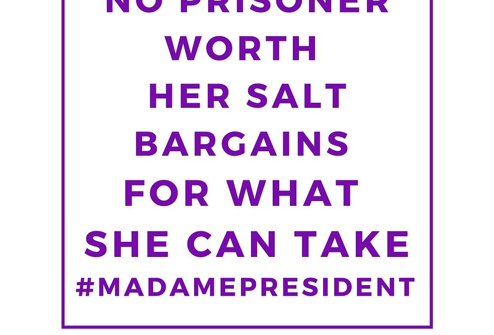 T-Shirt: Take it #MadamePresident