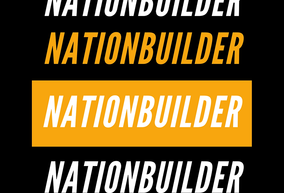 T-shirt: NATIONBUILDER