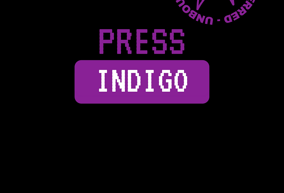 T-Shirt: PRESS Indigo