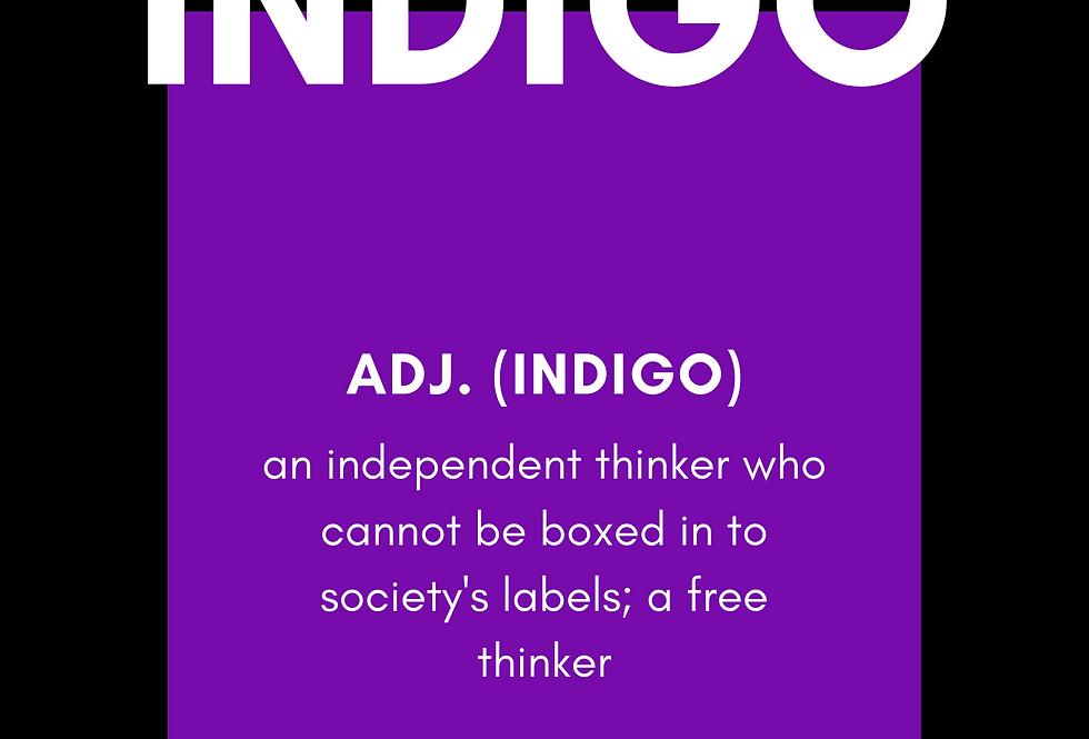 T-Shirt: Indigo def