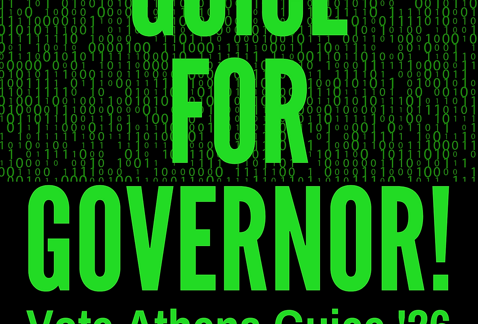 T-Shirt:  Vote Athena Guice for FLORIDA Governor '26