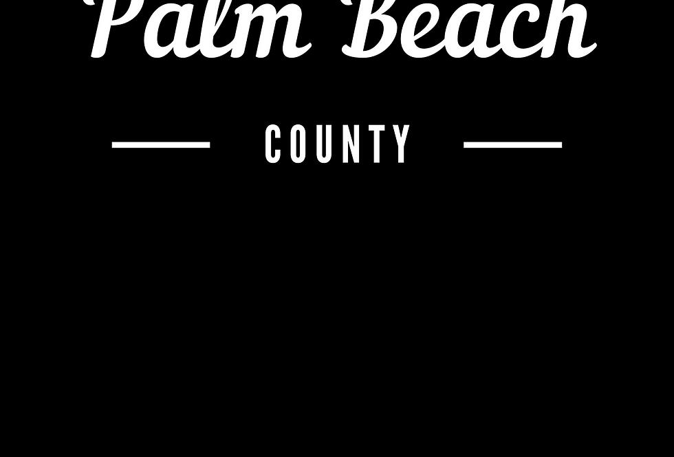 T-Shirt: Palm Beach county