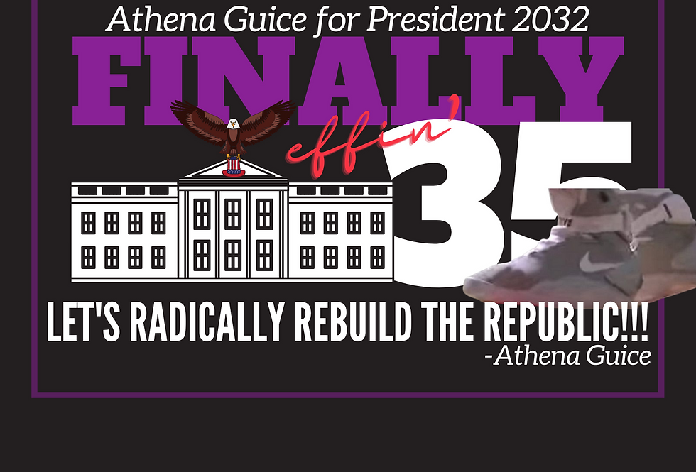T-Shirt: Finally 35- Rebuild the Republic