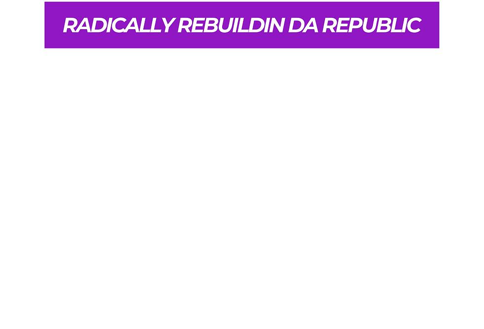T-Shirt: PURPREME Radically Rebuildin' Da Republic