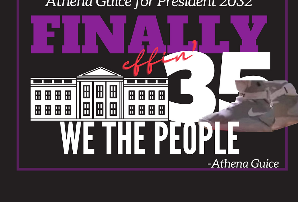 T-Shirt: Finally 35- We The People