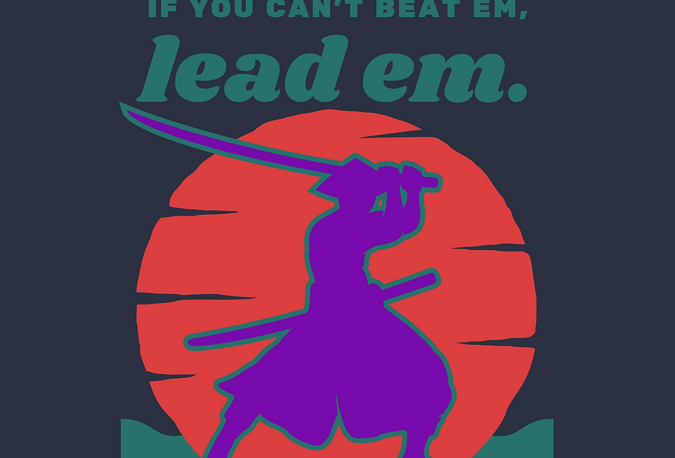 T-Shirt: If you can't beat em, lead em, Madam Presi