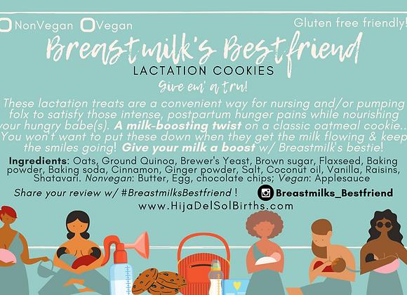 Breastmilk's Bestfriend: Lactation Cookies