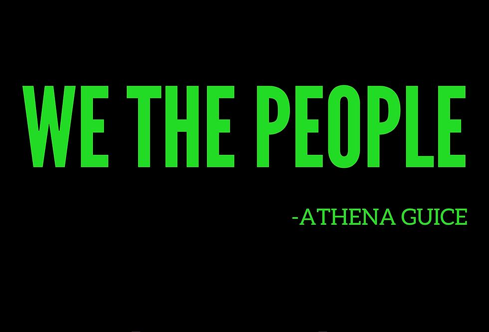 T-shirt: WE THE PEOPLE
