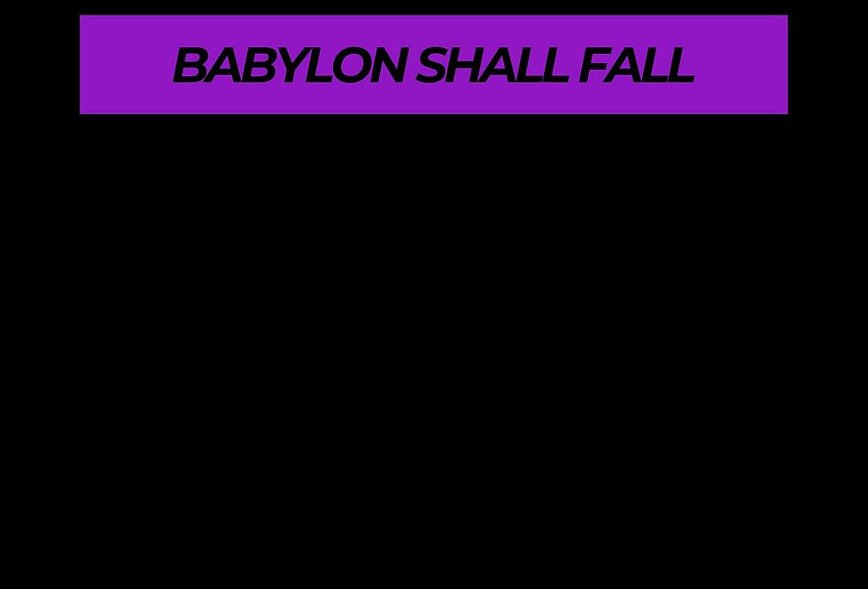 T-Shirt: PURPREME Babylon shall fall !
