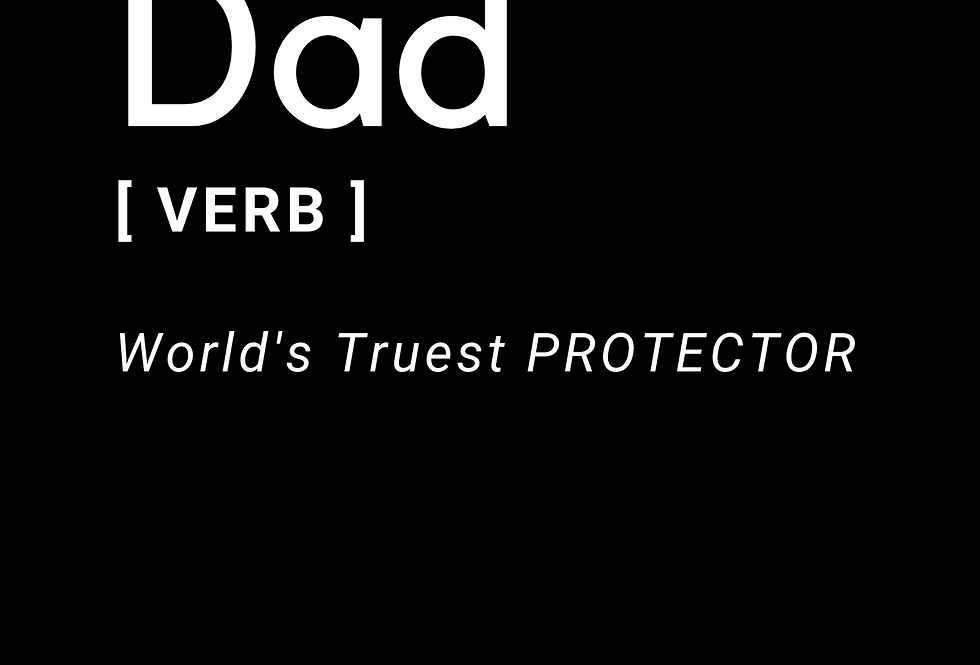 T-Shirt: Dad the Protector