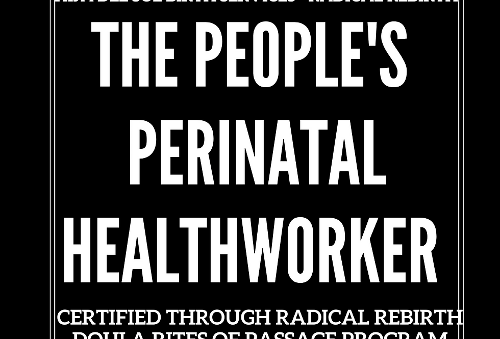 T-Shirt: The People's Perinatal Healthworker