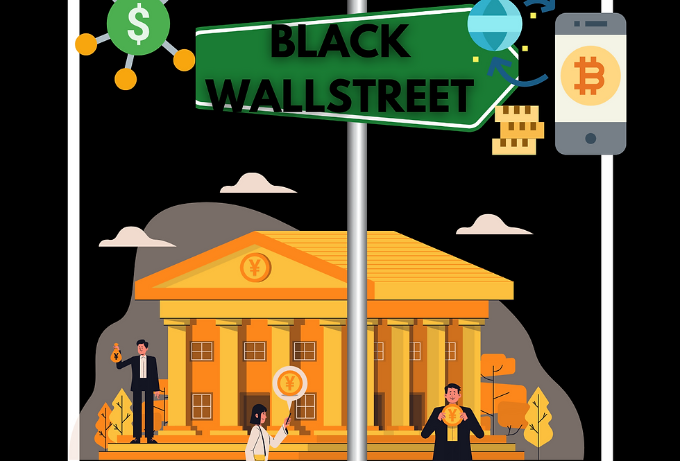 T-Shirt: THE RETURN OF BLACK WALLSTREET