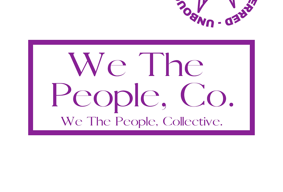 T-Shirt: WE, THE PEOPLE COLLECTIVE