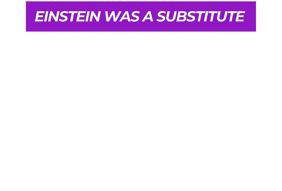 T-Shirt: PURPREME Einstein was a substitute