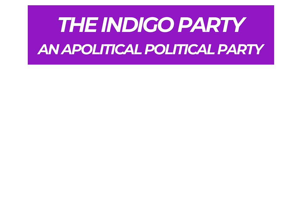T-Shirt: PURPREME INDIGO PARTY