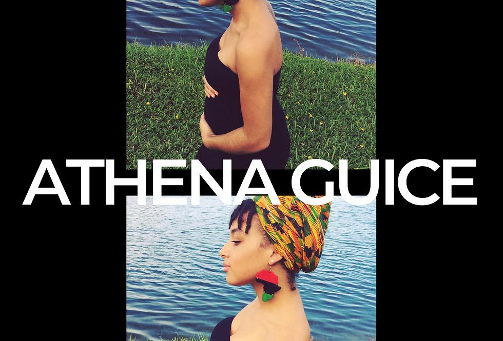T-Shirt: ATHENA GUICE pregnant