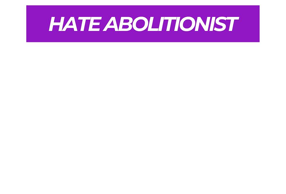 T-Shirt: Purpreme HATE ABOLITIONIST