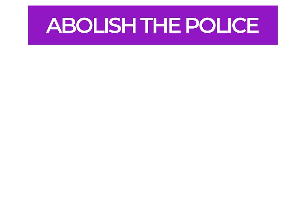 T-Shirt: PURPREME Abolish the police!