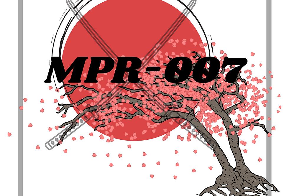 MPR-007 T-Shirt: T.H.U.G L.I.F.E. AFRO SAMURAI