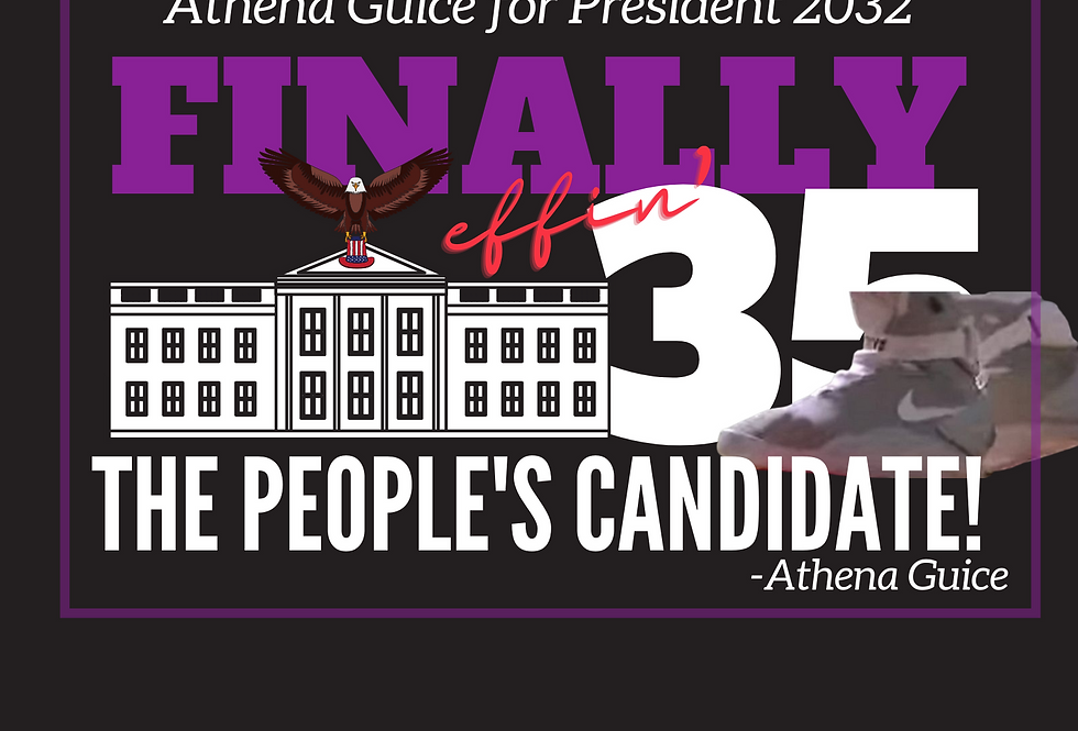 T-Shirt: Finally 35-The People's Candidate