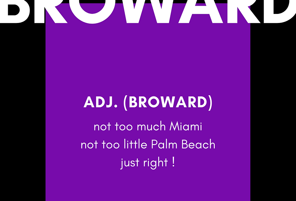 t-Shirt: BROWARD Definition