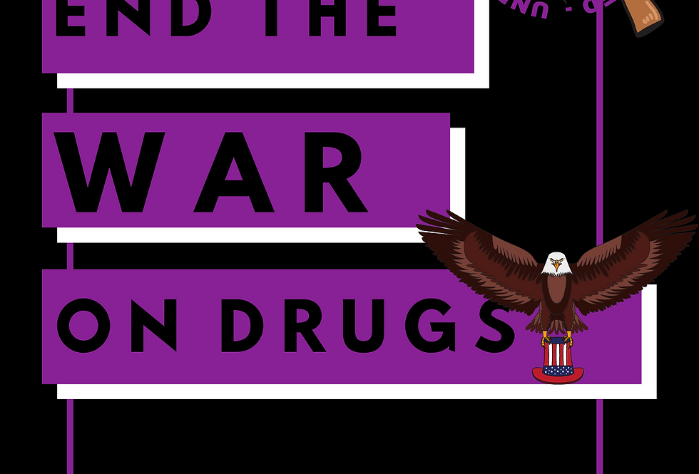 T-Shirt: End the war on drugs!