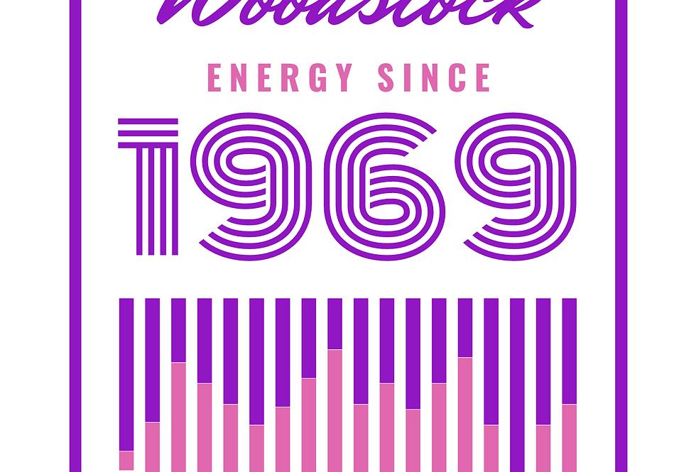 T-Shirt: Woodstock energy