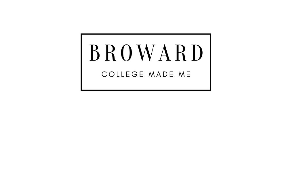 T-Shirt: Broward College Made Me White