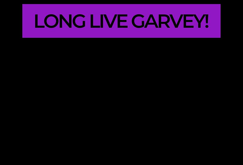 T-Shirt: PURPREME Long Live GARVEY!